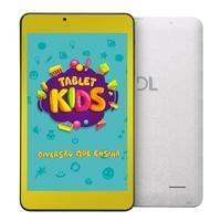 Tablet DL Kids C10, Android 7.1, 8GB, Tela 7´, Branco e Amarelo - TX394BBV
