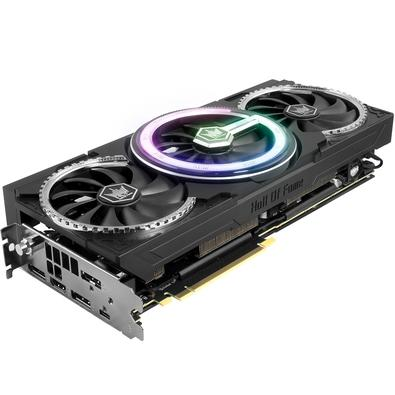 Placa de Vídeo Galax NVIDIA GeForce RTX 2070 Super HOF Black Edition 8GB, GDDR6 - 27ISL6UC53HT
