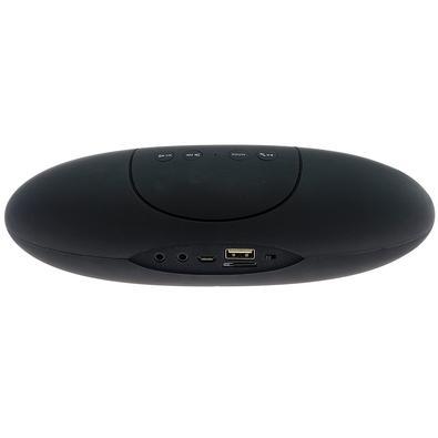 Caixa de Som Portátil Hoopson, Bluetooth, 3W RMS, Preto/Verde - RB-003 DG