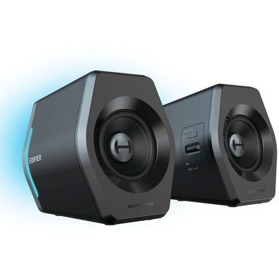 Caixa de Som Gamer Edifier G2000, RGB, Bluetooth, 16W RMS - G2000