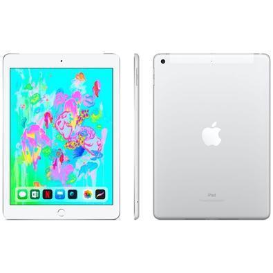 iPad 6, Tela 9.7´, 32GB, Wi-Fi + Celular, Prata - MR6P2BZ/A