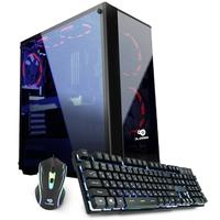 Computador Gamer DL Rush, Intel Core i3-7100, 8GB, 1TB, GeForce GT 1050 2GB, W10 Trial - GS254PAZ