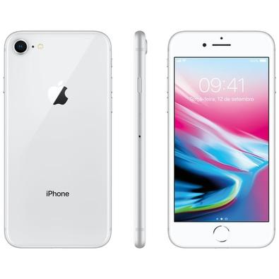 iPhone 8 Prateado, 128GB - MX172