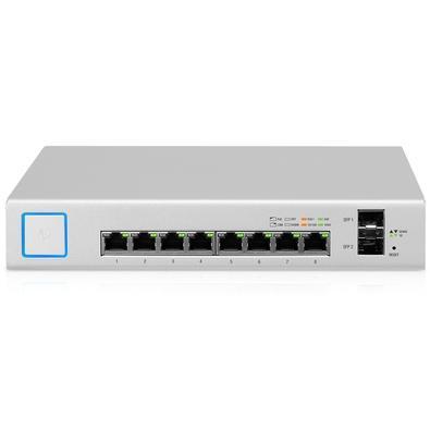 Switch Ubiquiti UniFi US-8-150W, 8P 150W POe 10/100/1000 + 2P SFP 10/100/1000 - US-8-150W