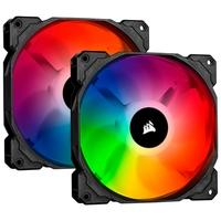 Kit com 2 Cooler FAN Corsair iCUE SP140 RGB Pro, 140mm - CO-9050096-WW