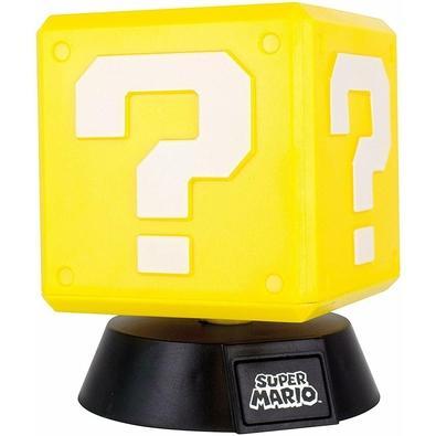 Action Figure Luminária Nintendo Super Mario Bros, Question Block - 29517
