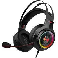 Headset Gamer Edifier G4TE Hecate, RGB, 7.1, Virtual Som Surround, Drivers 50mm, USB - G4TE-BK