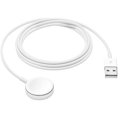 Carregador Magnético Apple, para Apple Watch, Conector USB, 2m - MX2F2BE/A