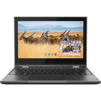 Notebook Lenovo 2 em 1 300e, Intel Pentium Silver N5000, 8GB, SSD 128GB, Windows 10 Pro, 11.6´ - 81M9003KBR