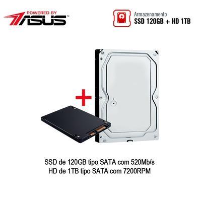 Computador Gamer BRX POWERED BY ASUS AMD Ryzen 5 3600X, 16GB, HD 1TB, SSD 120GB, Asus NVIDIA GeForce GTX 1660 6GB, Windows 10 Pro - PCBRX53600161000RGB
