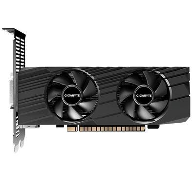 Placa de Vídeo Gigabyte NVIDIA GeForce GTX 1650 OC Low Profile, 4GB, GDDR5 - GV-N1650OC-4GL
