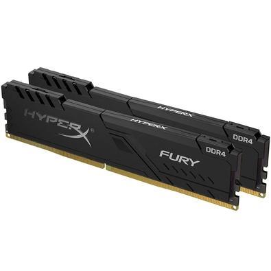 Memória HyperX Fury, 64GB (2x32GB), 3000MHz, DDR4, CL16, Preto - HX430C16FB3K2/64