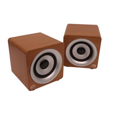 Caixa de Som Portátil Newlink Speaker Pine, Bluetooth, 20W RMS, Marrom - SP113NL