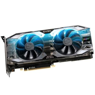 Placa de Vídeo EVGA NVIDIA GeForce RTX 2070 Super XC Ultra + Overclocked, 8GB, GDDR6 - 08G-P4-3175-KR
