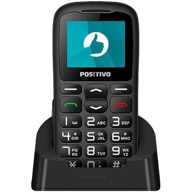 Celular Positivo P36, Tela 1.8´, Memória Expansível, Bluetooth, Dual SIM, Base para Carregamento - 11145641