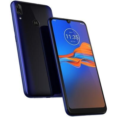Smartphone Motorola Moto E6 Plus, 64GB, 13MP, Tela 6.1´, Azul Netuno +  Capa Protetora - PAG90075BR