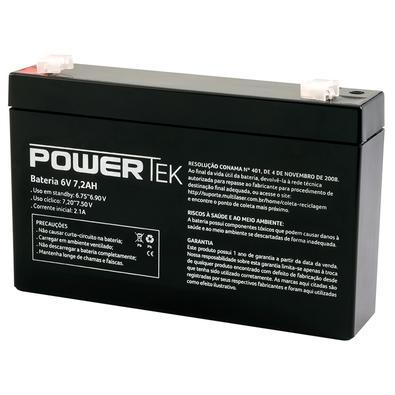 Bateria Powertek 6V, 7.2Ah - EN004