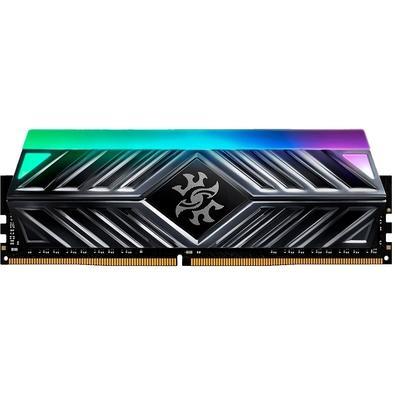 Memória XPG Spectrix D41, RGB, 16GB, 3600MHz, DDR4, CL18, Cinza - AX4U3600316G18A-ST41