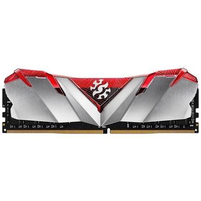 Memória XPG Gammix D30, 8GB, 3200MHz, DDR4, CL16, Vermelho - AX4U320038G16-SR30