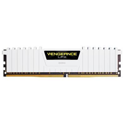 Memória Corsair Vengeance LPX 16GB (2x8GB) 2666Mhz DDR4 C16 White - CMK16GX4M2A2666C16W