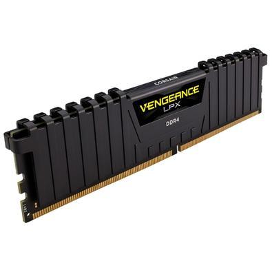 Memória Corsair Vengeance LPX 16GB (2x8GB) 4266Mhz DDR4 C19 Black - CMK16GX4M2K4266C19