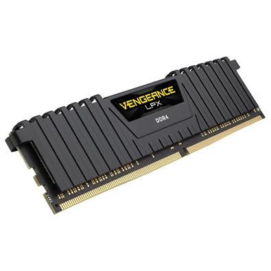 Memória Corsair Vengeance LPX 8GB (2x4GB) 2400Mhz DDR4 C16 Black - CMK8GX4M2A2400C16