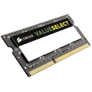 Memória Corsair Value Select Para Notebook 4GB 1600Mhz DDR3 C11 - CMSO4GX3M1A1600C11