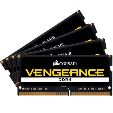 Memória Corsair Vengeance Para Notebook 32GB (4x8GB) 3600Mhz DDR4 C16 - CMSX32GX4M4X3600C16