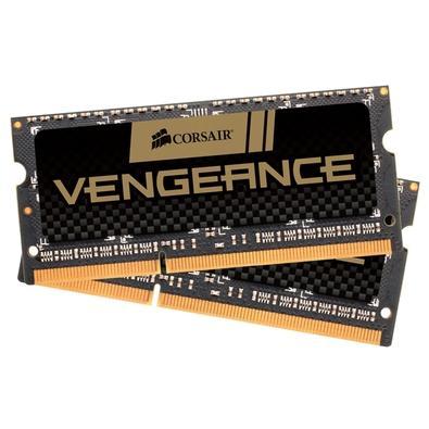 Memória Corsair Vengeance Para Notebook 8GB (2x4GB) 1600Mhz DDR3 C9 - CMSX8GX3M2A1600C9