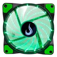 Cooler FAN Rise Mode Wind W1, 120mm, LED Verde - RM-WN-01-BG