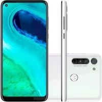 Smartphone Motorola Moto G8, 64GB, 16MP, Tela 6.4´, Branco Prisma + Capa Protetora - PAHK0005BR
