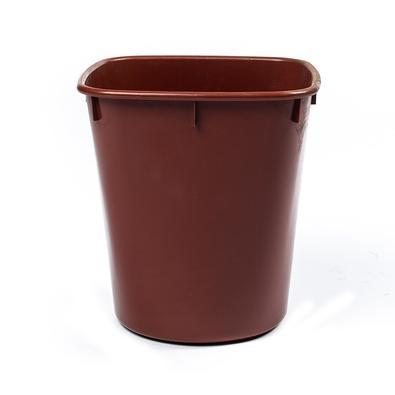 Cesto de Lixo Cônico Menno, Orgânico, 12 Litros, Marrom