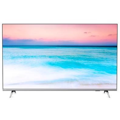 Smart TV Philips LED 55´ UHD 4K, 1 HDMI, 2 USB, Bluetooth, Wi-Fi, HDR - 55PUG6654/78