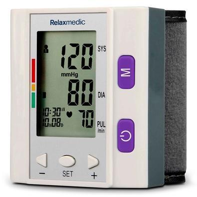 Medidor de Pulso de Pressão Sanguínea RelaxMedic Pocket Control - RM-ED0602A