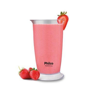 Mixer Philco PMX650, 220V, Inox/Preto - 53202021