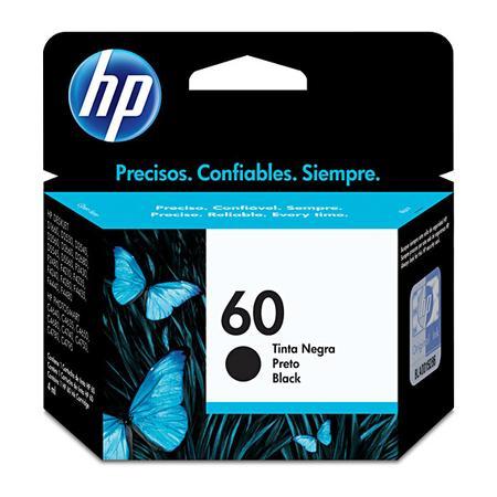 Cartucho de Tinta HP 60, Preto - CC640WB
