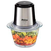 Processador Philco Inox Glass PPS01I, 350W, 110V, Inox - 51201004