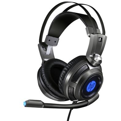 Headset Gamer HP H200, LED, Drivers 50mm - 8AA03AA#ABM