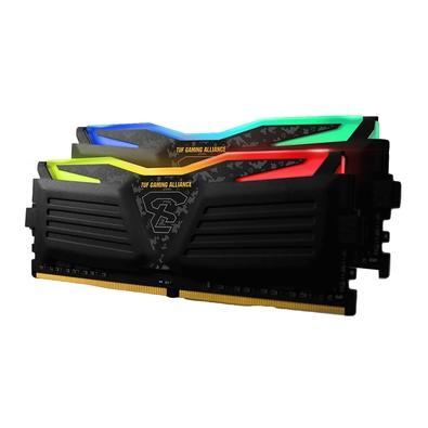 Memória Geil Super Luce RGB SYNC TUF Gaming Alliance AMD Edition, 16GB (2x8GB), 3200MHz, DDR4, CL16 - GALTS416GB3200C16ADC