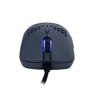 Mouse Gamer OEX Game Dyon Ultra Leve, RGB, 7 Botões, 7200DPI, Chumbo - MS322