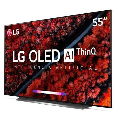 Smart TV OLED 55´ LG UHD 4K, 4 HDMI, 3 USB, Wi-Fi, ThinQ AI, HDR - OLED55C9