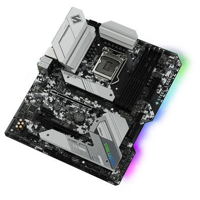 Placa-Mãe ASRock H470 Steel Legend, Intel LGA 1200, ATX, DDR4 - 90-MXBCK0-A0UAYZ