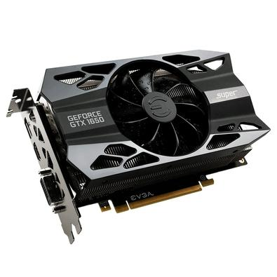 Placa de Vídeo EVGA NVIDIA GeForce GTX 1650 Super XC Black Gaming, 4GB, GDDR6 - 04G-P4-1251-KR