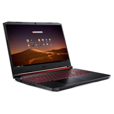 Notebook Gamer Acer Intel Core i7, 8GB, 1TB, SSD 128GB, NVIDIA GTX 1650, Endless OS - AN515-54-75FJ
