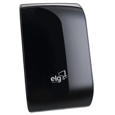 Antena Interna ELG Edge, 4K, HDR, HDTV, UHF, VHF - HDTV5000BK