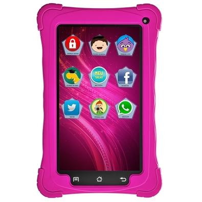 Tablet Mondial Kids, Android 7.1, 8GB, Rosa - TB-19