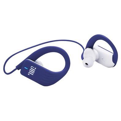 Fone de Ouvido Esportivo Bluetooth JBL Endurance Sprint, com Microfone, Recarregável, À Prova d´Água, Azul - JBLENDURSPRINTBLU