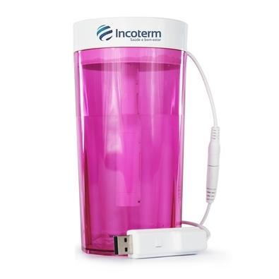 Umidificador Portátil Incoterm UMD030, 500ml, Pink - S-UMD-0022.00