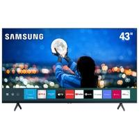 Smart TV 43´ 4K UHD Samsung, 2 HDMI, 1 USB, Wi-Fi, Bluetooth, HDR - UN43TU7000GXZD