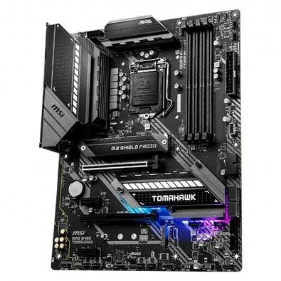 Placa-Mãe MSI MAG B460 Tomahawk, Intel LGA 1200, ATX